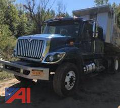 2019 International 7500 SFA Dump Truck