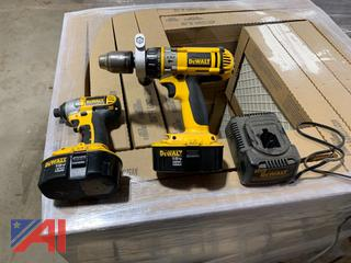 Dewalt Impact Screw Gun and Drill