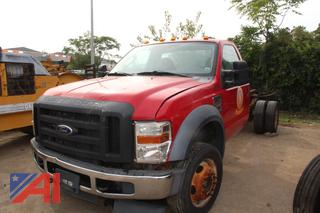2010 Ford F550 Cab and Chassis
