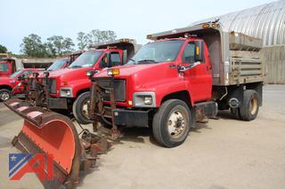 2005 GMC C8500 Dump Truck with Plow