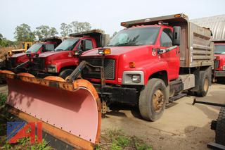 2005 GMC C8500 Dump Truck with Plow and Sander
