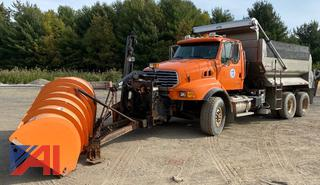 2006 Sterling LT9500 Dump with Plow, Wing and Sander