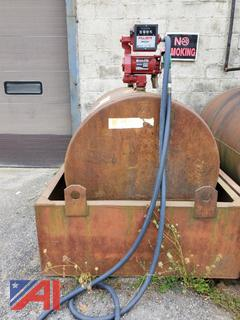 550 Gallon Diesel Tank w/ Fill-Rite Pump and Secondary Containment