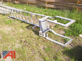 Galvanized Access Ladder