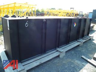 (#6) 2019 Hennig 744 Gallon Diesel Fuel Tank Enclosure System -New & Never Installed