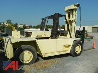 (#4) Caterpillar V250 Forklift with 8' Forks