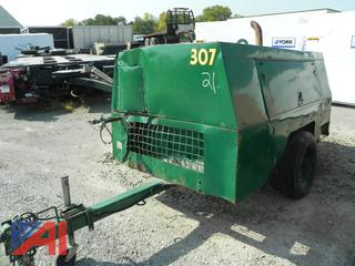 (#21) Sullivan Palatek D18506JDB Air Compressor on Wheels