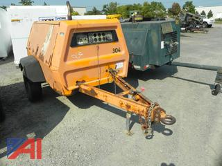 (#23) Ingersoll-Rand Air Compressor on Wheels