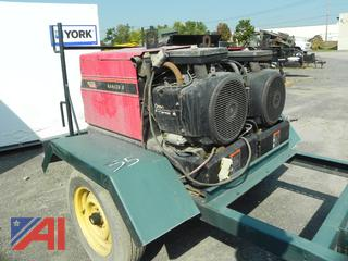(#35) Lincoln 8 Welders with Trailer