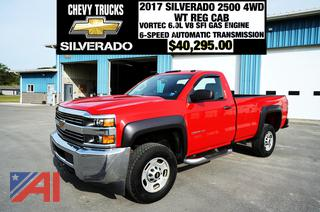 REDUCED BP 2017 Chevy Silverado 2500HD Pickup Truck