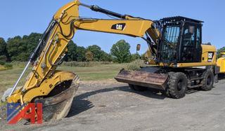 2015 CAT M313D Wheeled Excavator