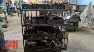 Rolling Metal Stock Carts & Various Hardware