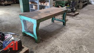 Steel Machining Table