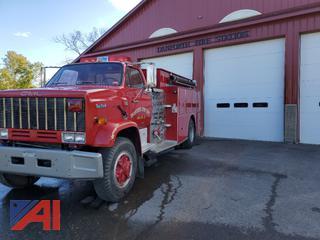 1987 GMC Pumper Truck