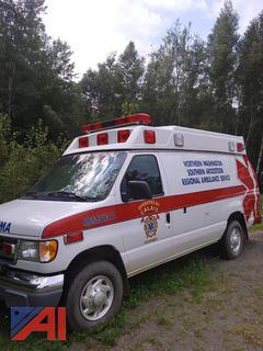 1999 Ford E350 Super Duty Ambulance