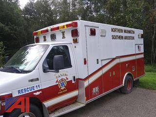 2001 Ford E450 Super Duty Ambulance