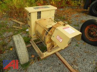 Generac 25kw Continuous Power Generator with Transfer Switching Box
