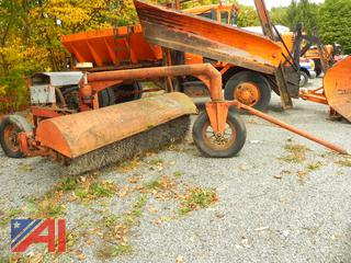 Little Ford 7' Road Broom with Engine