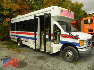 2007 Ford E450 Mini School Bus with Wheelchair Lift