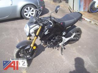 2014 Honda GROM  PGM-F1 Motorcycle