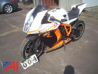 2015 KTM RC8  1190 Motorcycle