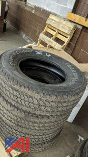 245/75R17 Take Off Tires