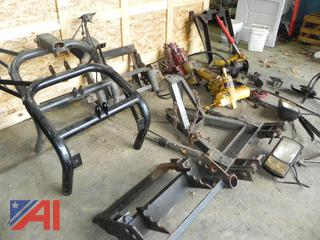 (#9) Various Western Plow Frame Parts
