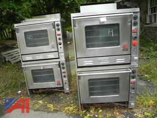 (# 19 & 20) Wolf Air Flow Circulating Heat Double Ovens