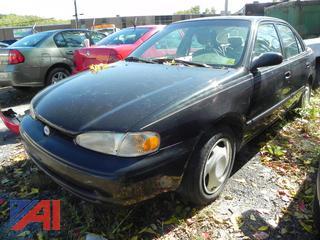 (#1) 2002 Chevy Prizm Lsi 4 Door Sedan