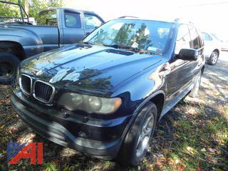 (#4) 2001 BMW X5 SUV