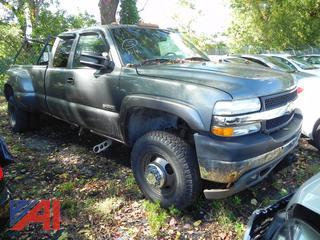 (#5) 2001 Chevy Silverado 3500 Extended Cab Dually Pickup Truck