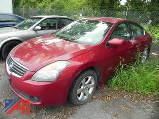 (#3) 2007 Nissan Altima 4 Door Sedan