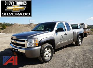 2009 Chevy Silverado 1500 1/2 Ton Extended Cab Pickup Truck