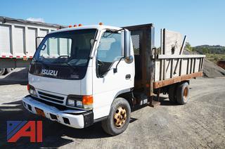 2005 Isuzu NPR Tilting Flatbed Truck