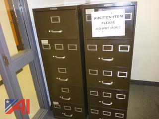 (#1679) Watson Metal Office File Cabinets