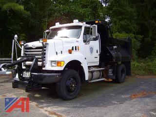 2007 Sterling L8500 Dump Truck with Sander