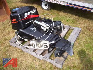 2004 Mercury 40HP Outboard Motor