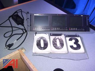 Marshall LCD Triple Monitor System