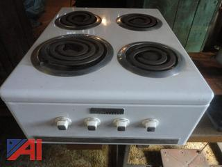 Vintage Universal Table Top Electric Stove