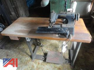 Vintage Teitelbaum and Lewis Commercial Sewing Machines