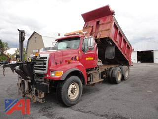 2004 Sterling LT9500 Dump Truck with Plow Harness & Rear Spreader