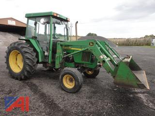 1998 John Deere 5410 Tractor with Loader