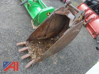 "Case Drott 24"" Digging Bucket"