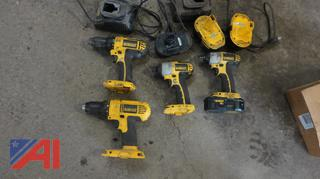 DeWALT Battery Powered Tools and More