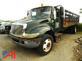 (#1) 2004 International 4200 Rack Truck