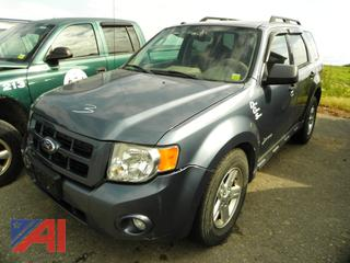 (#3)  2011 Ford Escape SUV