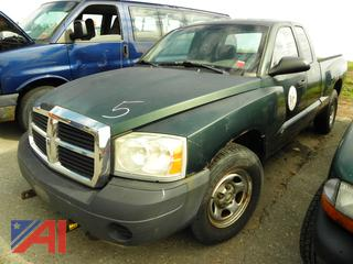 (#5) 2006 Dodge Dakota Pickup Truck