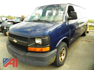 (#6) 2003 Chevy Express 3500 Van