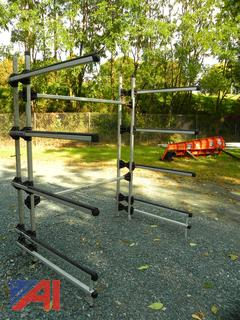 Seitech Free Standing Aluminum Kayak or Canoe Storage Rack