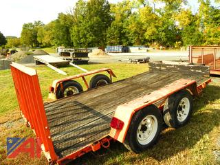 1992 Howe Brothers Trailer with Ramp